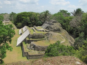 Altun Ha from top of 2