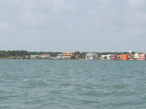 Belize City going down the coats