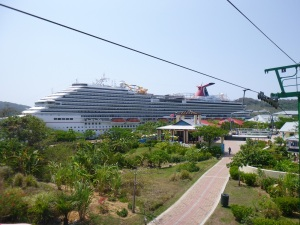 Carnival Magic - its a big boat
