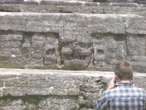 me taking a picture of a face