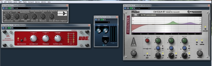 In a Mess vocal plugins