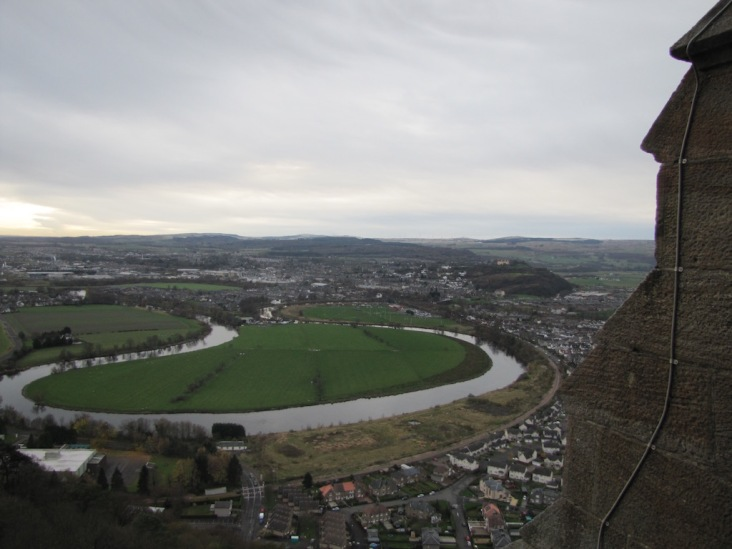 the site of the battle of Stirling Bridge