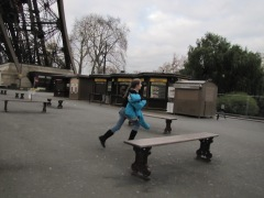 Chasing pigeons - oh to have that energy again